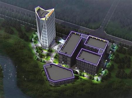 在今年9月开园的重庆空港互联网 中小型电商可享受市重点楼宇产业