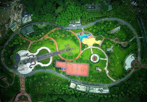 园林假山与水体景观小品施工细节_塑石假山施工流程_假山施工图