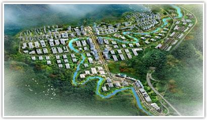 园区委托重庆大学城市规划与设计研究院编制了《綦江工业园区概念性